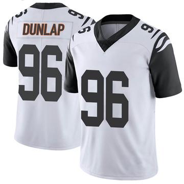 Youth Nike Cincinnati Bengals Carlos Dunlap White Color Rush Vapor Untouchable Jersey - Limited