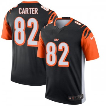 Youth Nike Cincinnati Bengals Cethan Carter Black Jersey - Legend