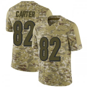 Youth Nike Cincinnati Bengals Cethan Carter Camo 2018 Salute to Service Jersey - Limited