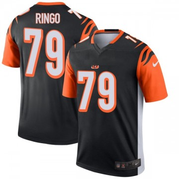 Youth Nike Cincinnati Bengals Christian Ringo Black Jersey - Legend