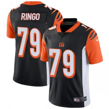 Youth Nike Cincinnati Bengals Christian Ringo Black Team Color Vapor Untouchable Jersey - Limited