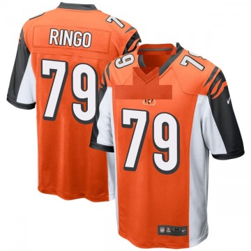 Youth Nike Cincinnati Bengals Christian Ringo Orange Jersey - Game