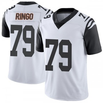 Youth Nike Cincinnati Bengals Christian Ringo White Color Rush Vapor Untouchable Jersey - Limited