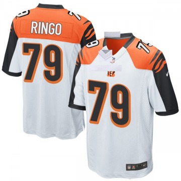 Youth Nike Cincinnati Bengals Christian Ringo White Jersey - Game