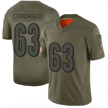 Youth Nike Cincinnati Bengals Clay Cordasco Camo 2019 Salute to Service Jersey - Limited