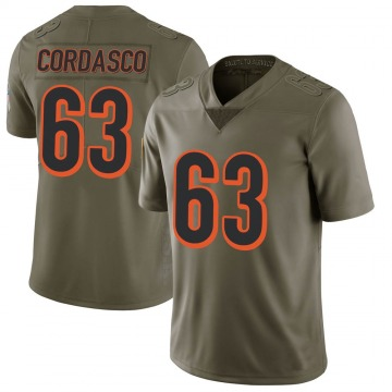 Youth Nike Cincinnati Bengals Clay Cordasco Green 2017 Salute to Service Jersey - Limited