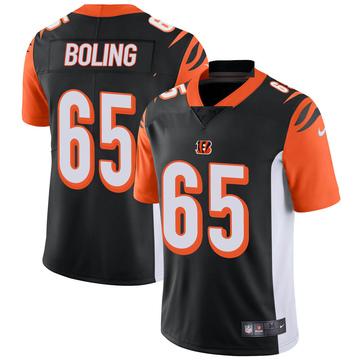 Youth Nike Cincinnati Bengals Clint Boling Black Team Color Vapor Untouchable Jersey - Limited