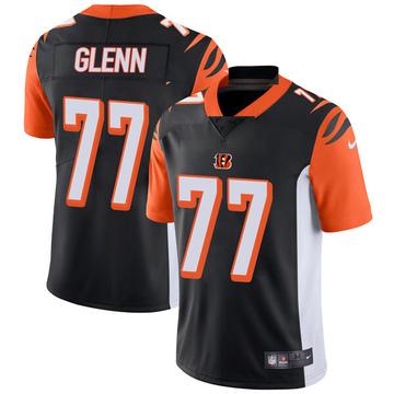 Youth Nike Cincinnati Bengals Cordy Glenn Black Team Color Vapor Untouchable Jersey - Limited