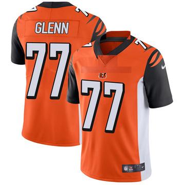 Youth Nike Cincinnati Bengals Cordy Glenn Orange Vapor Untouchable Jersey - Limited