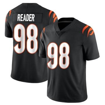 Youth Nike Cincinnati Bengals D.J. Reader Black Team Color Vapor Untouchable Jersey - Limited
