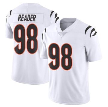 Youth Nike Cincinnati Bengals D.J. Reader White Vapor Untouchable Jersey - Limited