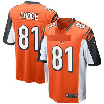 Youth Nike Cincinnati Bengals DaMarkus Lodge Orange Jersey - Game