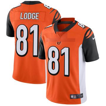 Youth Nike Cincinnati Bengals DaMarkus Lodge Orange Vapor Untouchable Jersey - Limited