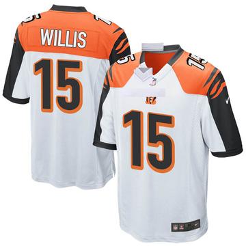 Youth Nike Cincinnati Bengals Damion Willis White Jersey - Game