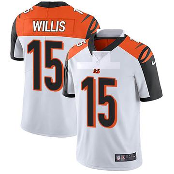 Youth Nike Cincinnati Bengals Damion Willis White Vapor Untouchable Jersey - Limited