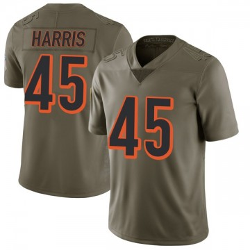 Youth Nike Cincinnati Bengals Darien Harris Green 2017 Salute to Service Jersey - Limited