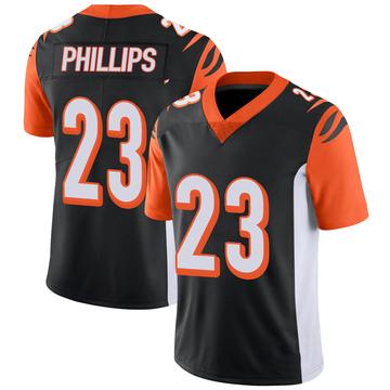 Youth Nike Cincinnati Bengals Darius Phillips Black 100th Vapor Jersey - Limited