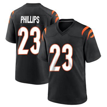 Youth Nike Cincinnati Bengals Darius Phillips Black Team Color Jersey - Game