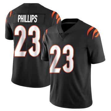 Youth Nike Cincinnati Bengals Darius Phillips Black Team Color Vapor Untouchable Jersey - Limited