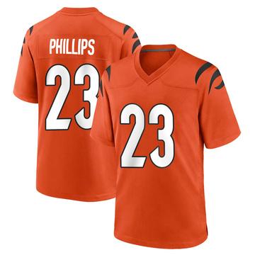 Youth Nike Cincinnati Bengals Darius Phillips Orange Jersey - Game
