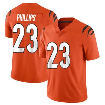 Youth Nike Cincinnati Bengals Darius Phillips Orange Vapor Untouchable Jersey - Limited