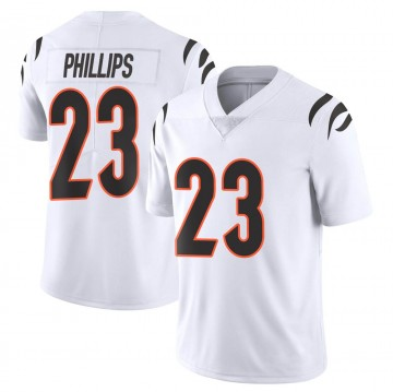 Youth Nike Cincinnati Bengals Darius Phillips White Vapor Untouchable Jersey - Limited