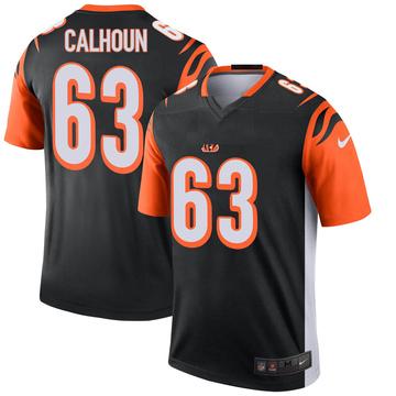 Youth Nike Cincinnati Bengals Deion Calhoun Black Jersey - Legend