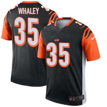 Youth Nike Cincinnati Bengals Devwah Whaley Black Jersey - Legend