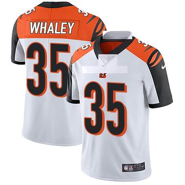 Youth Nike Cincinnati Bengals Devwah Whaley White Vapor Untouchable Jersey - Limited