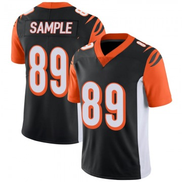 Youth Nike Cincinnati Bengals Drew Sample Black 100th Vapor Jersey - Limited