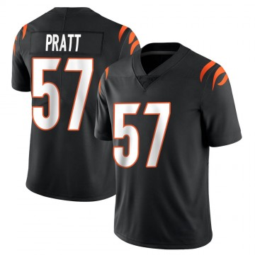 Youth Nike Cincinnati Bengals Germaine Pratt Black Team Color Vapor Untouchable Jersey - Limited