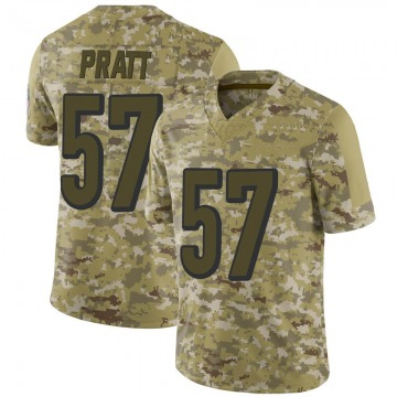 Youth Nike Cincinnati Bengals Germaine Pratt Camo 2018 Salute to Service Jersey - Limited