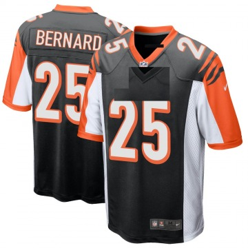Youth Nike Cincinnati Bengals Giovani Bernard Black Team Color Jersey - Game