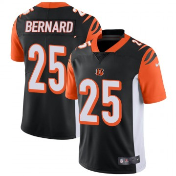 Youth Nike Cincinnati Bengals Giovani Bernard Black Team Color Vapor Untouchable Jersey - Limited