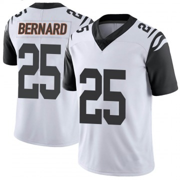 Youth Nike Cincinnati Bengals Giovani Bernard White Color Rush Vapor Untouchable Jersey - Limited