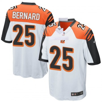 Youth Nike Cincinnati Bengals Giovani Bernard White Jersey - Game