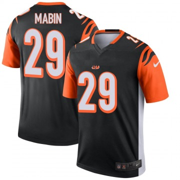 Youth Nike Cincinnati Bengals Greg Mabin Black Jersey - Legend