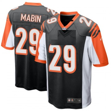 Youth Nike Cincinnati Bengals Greg Mabin Black Team Color Jersey - Game