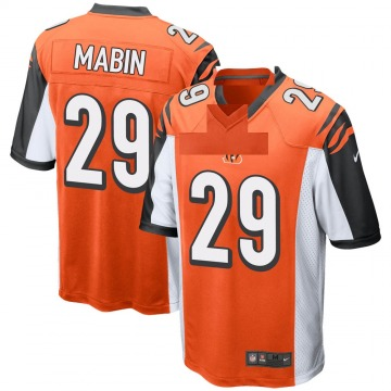 Youth Nike Cincinnati Bengals Greg Mabin Orange Jersey - Game
