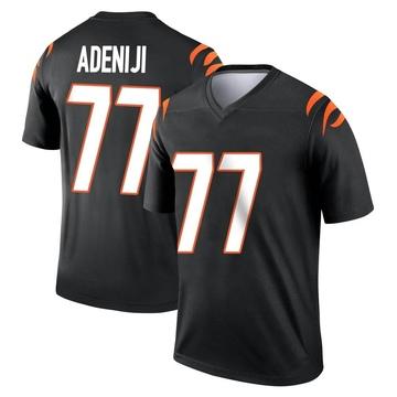 Youth Nike Cincinnati Bengals Hakeem Adeniji Black Jersey - Legend