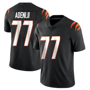 Youth Nike Cincinnati Bengals Hakeem Adeniji Black Team Color Vapor Untouchable Jersey - Limited