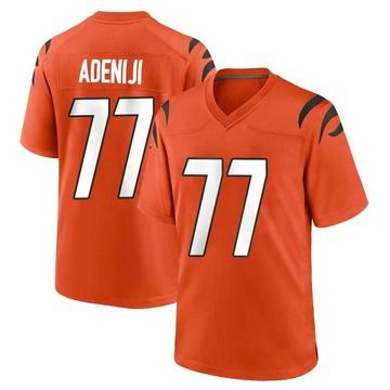 Youth Nike Cincinnati Bengals Hakeem Adeniji Orange Jersey - Game