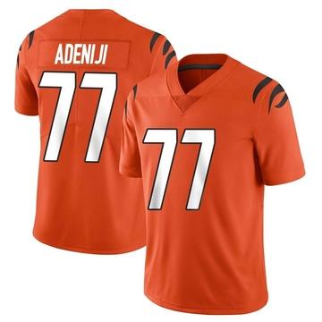 Youth Nike Cincinnati Bengals Hakeem Adeniji Orange Vapor Untouchable Jersey - Limited