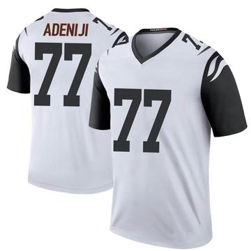 Youth Nike Cincinnati Bengals Hakeem Adeniji White Color Rush Jersey - Legend
