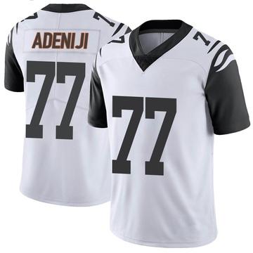 Youth Nike Cincinnati Bengals Hakeem Adeniji White Color Rush Vapor Untouchable Jersey - Limited