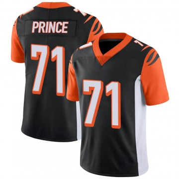 Youth Nike Cincinnati Bengals Isaiah Prince Black 100th Vapor Jersey - Limited