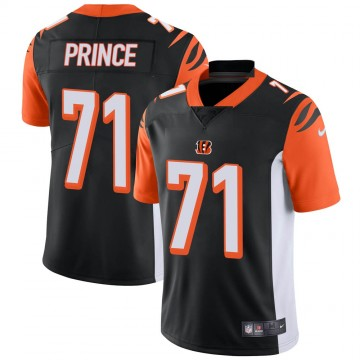 Youth Nike Cincinnati Bengals Isaiah Prince Black Team Color Vapor Untouchable Jersey - Limited