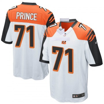 Youth Nike Cincinnati Bengals Isaiah Prince White Jersey - Game