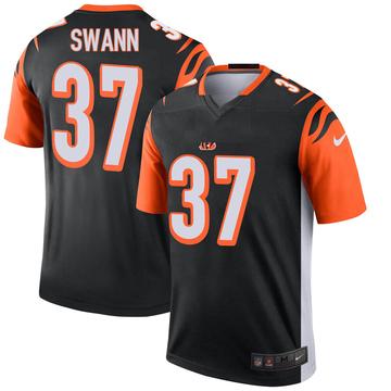 Youth Nike Cincinnati Bengals Isiah Swann Black Jersey - Legend