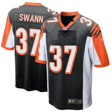 Youth Nike Cincinnati Bengals Isiah Swann Black Team Color Jersey - Game